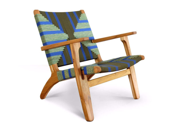 Masaya Arm Chair, Emerald Coast Pattern