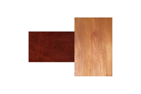Royal Mahogany / Saddle Leather