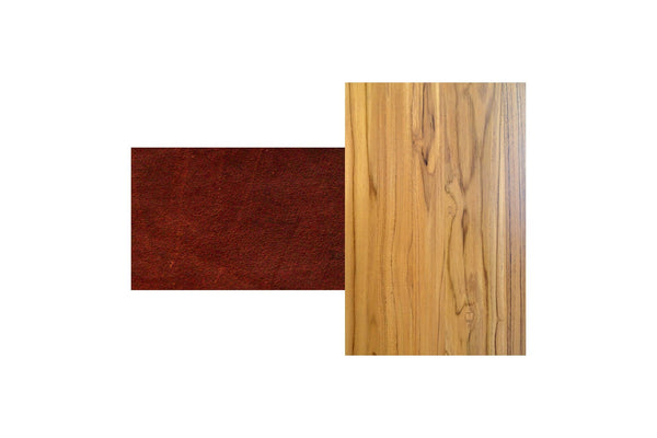 Teak / Saddle Leather