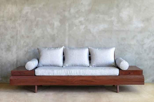 Floating Sofa | Bohemian Style | Handmade Solid Wood ...