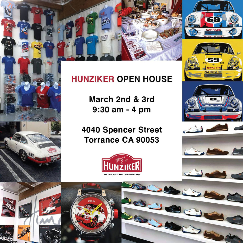 Hunziker Open House March 2nd & 3rd