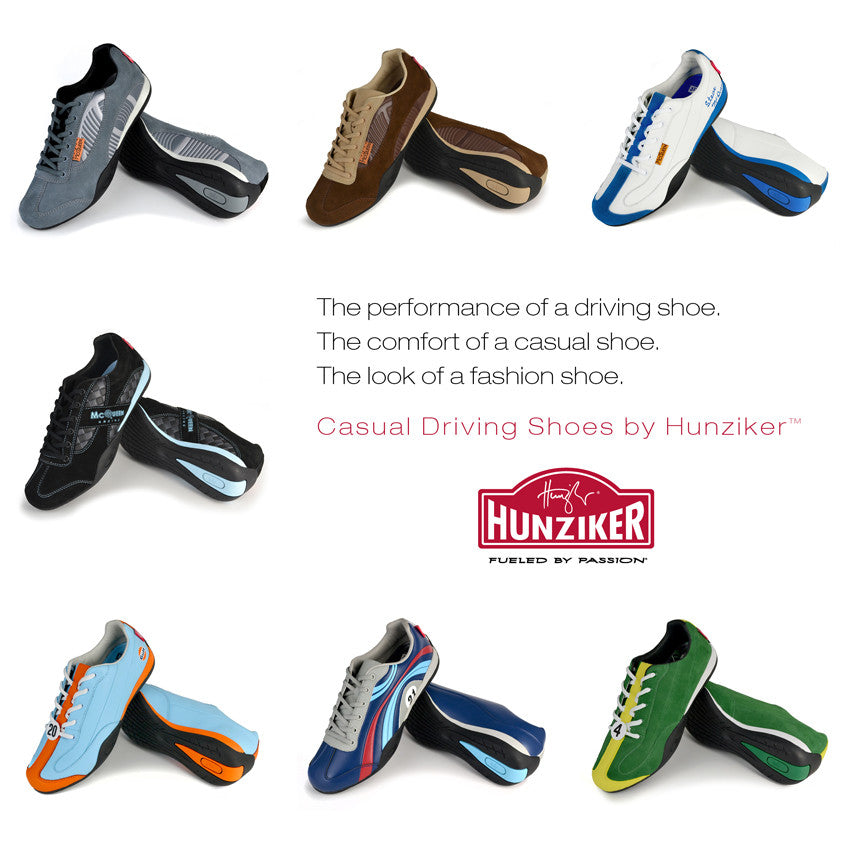 Casual Driving Shoes by Hunziker™ are back