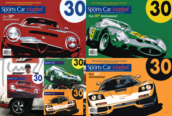 Sports Car Market 30th Anniversary Posters & Prints