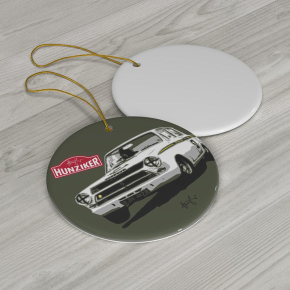 Lotus Cortina - Ceramic Ornament
