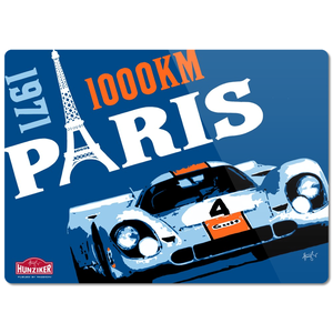 1971 Paris 1000KM Glass Cutting Board