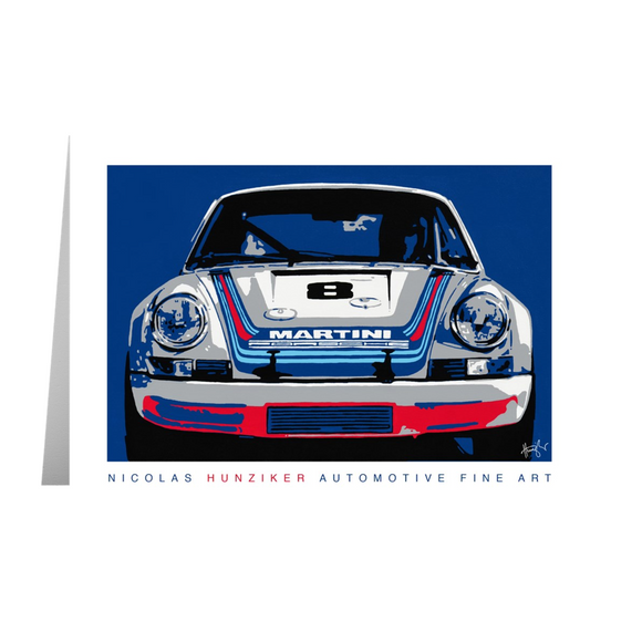 1973 911 RSR - Note Cards with Envelopes Pack