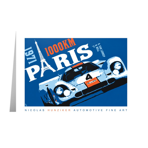 917K - 1971 Paris 1000KM Paris - Note Cards with Envelopes Pack