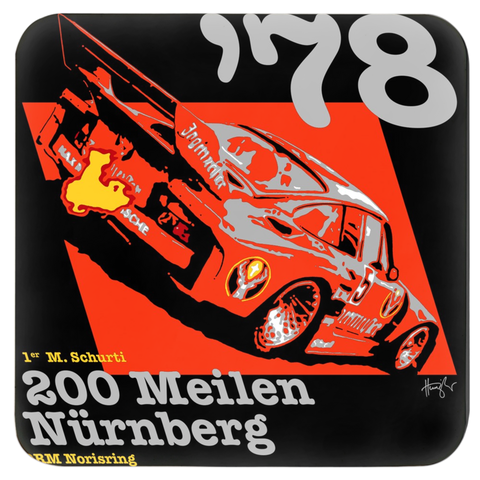 935 DRM Nürnberg 1978 Coasters - Set of 4