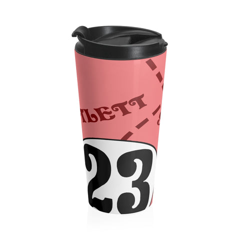 917 Pink Pig - Stainless Steel Travel Mug