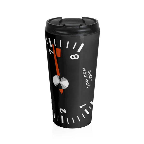 Racer's Tach - Stainless Steel Travel Mug