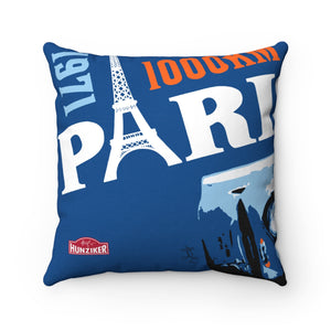 Paris 1000KM - Spun Polyester Pillow