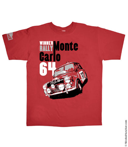 Mini Rallye Monte Carlo Graphic Tee