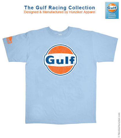 Gulf Racing Logo Graphic Tee