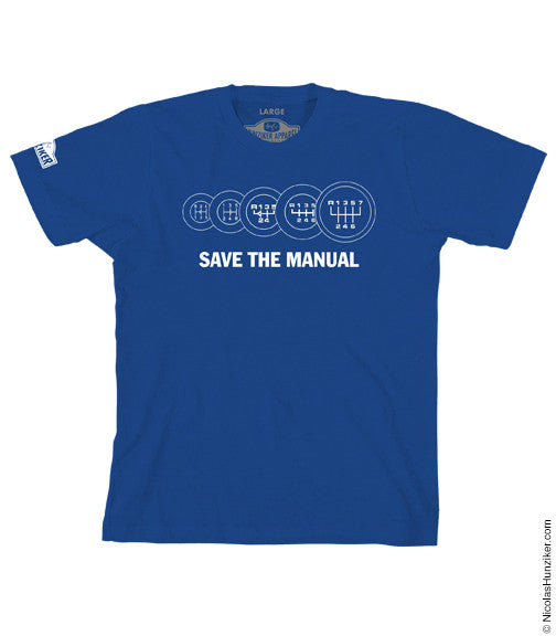 SAVE THE MANUAL Graphic Tee