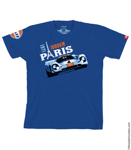 Gulf Racing 1971 Paris 1000KM -917K - Graphic Tee