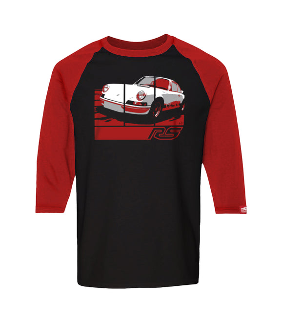 73 Carrera RS 2.7 - Retro Graphic Tee - Black/Red