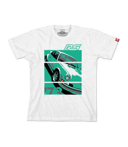 PRE-SALE: 73 Carrera RS 2.7 - Graphic Tee - White