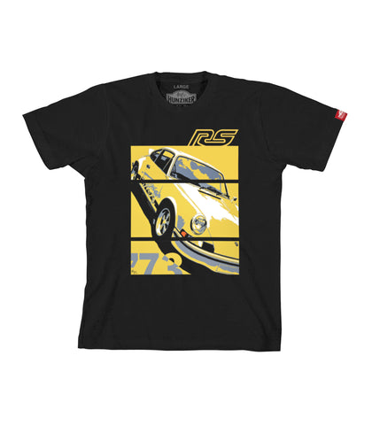 PRE-SALE: 73 Carrera RS 2.7 - Graphic Tee - Black