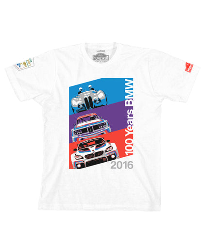 BMW 100 Years - Rolex Monterey Motorsports Reunion - Official Shirt