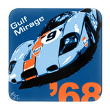 Gulf Racing Coasters - Set of 4