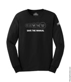 SAVE THE MANUAL Longsleeve Tee