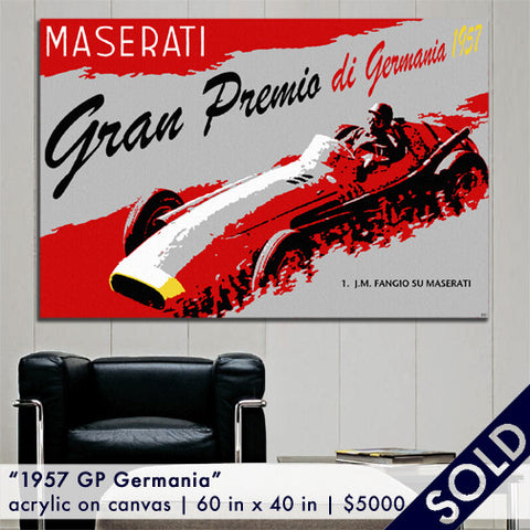 Maserati 250F - 1957 GP Germania