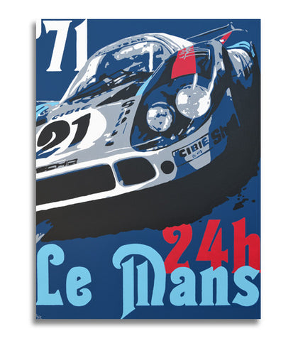 1971 Le Mans 24h - 917LH - Mini Canvas Print