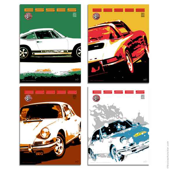 Early 911S Registry: Esses Magazine Covers 2011