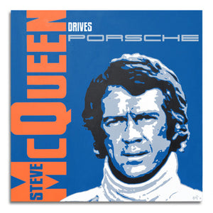 Steve McQueen Drives Porsche - The Racer