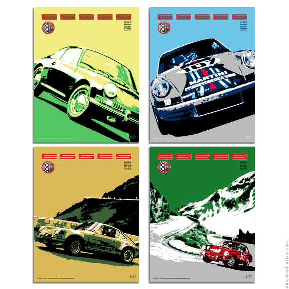Early 911S Registry: Esses Magazine Covers 2012