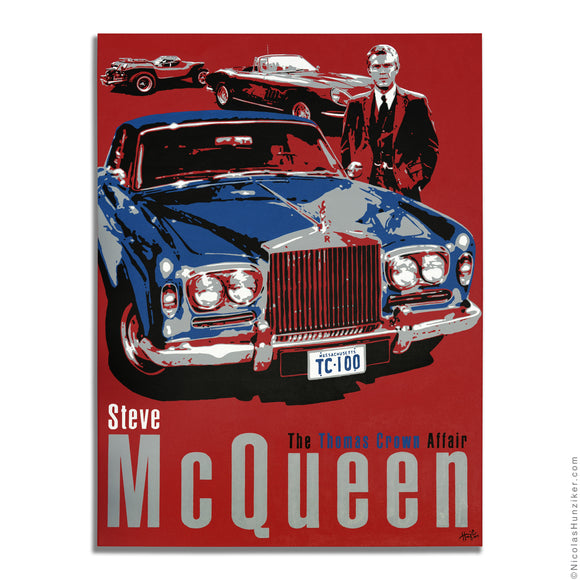 Friends of Steve McQueen Car Show 2014: The Thomas Crown Affair