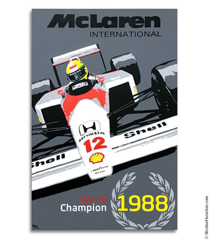 Ayrton Senna World Champion Trilogy - 1988