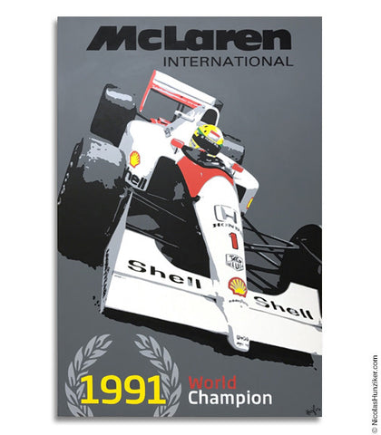Ayrton Senna World Champion Trilogy - 1991