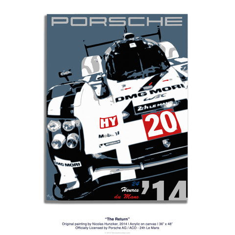Porsche 919 - The Return