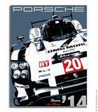 Porsche 919 Hybrid - The Return - Canvas Print