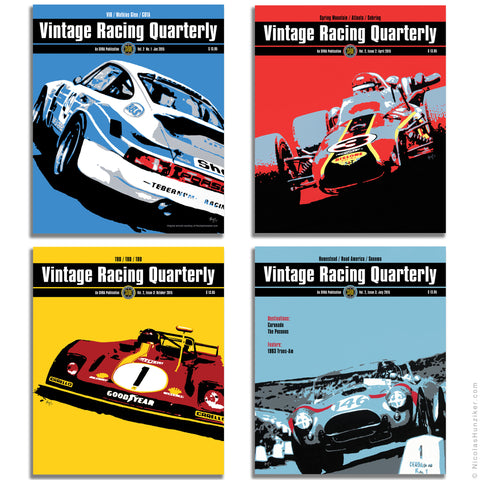 SVRA - Vintage Racing Quarterly Cover Art 2015