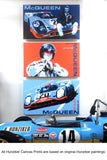 """Just Like Jo"" - Steve McQueen Le Mans Trilogy - Painting No. 2 - Canvas Print"