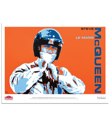 "Steve McQueen Le Mans Trilogy ""Just Like Jo"" - Poster"