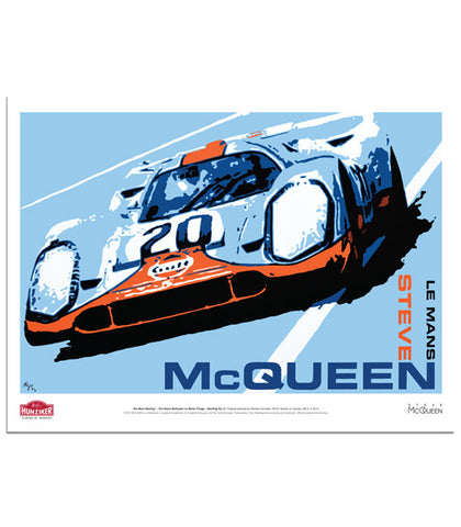 "Steve McQueen Le Mans Trilogy ""No More Waiting"" - Poster"
