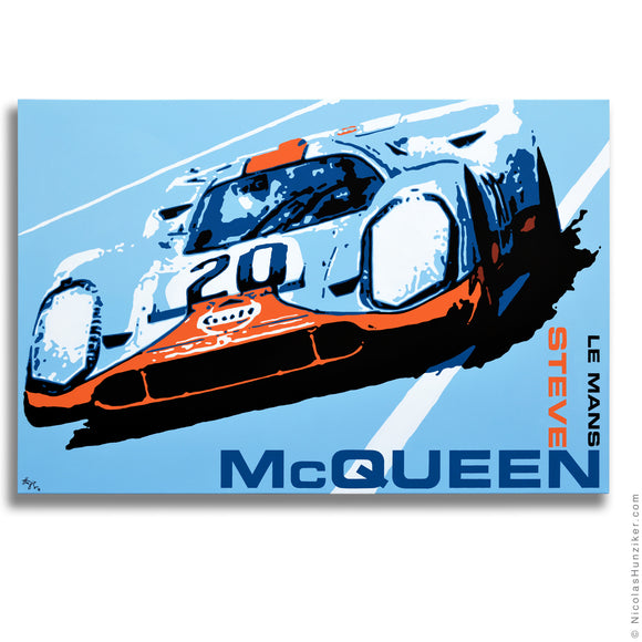 Steve McQueen Le Mans Trilogy - No More Waiting