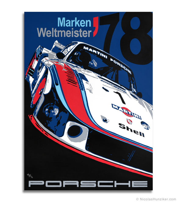 Porsche 935 - Moby Dick - Canvas Print
