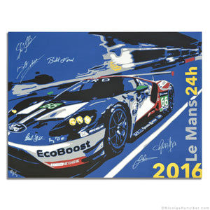2016 Le Mans 24h - Ford GT