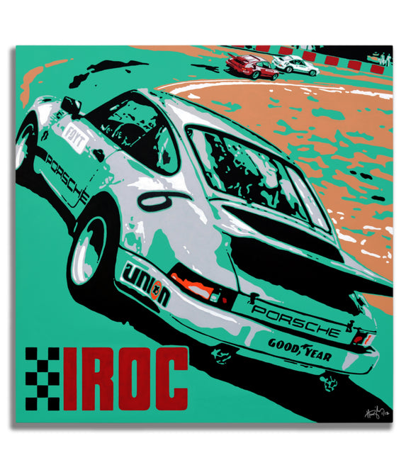 Porsche 911 RSR IROC  - Turn 9 - Canvas Print