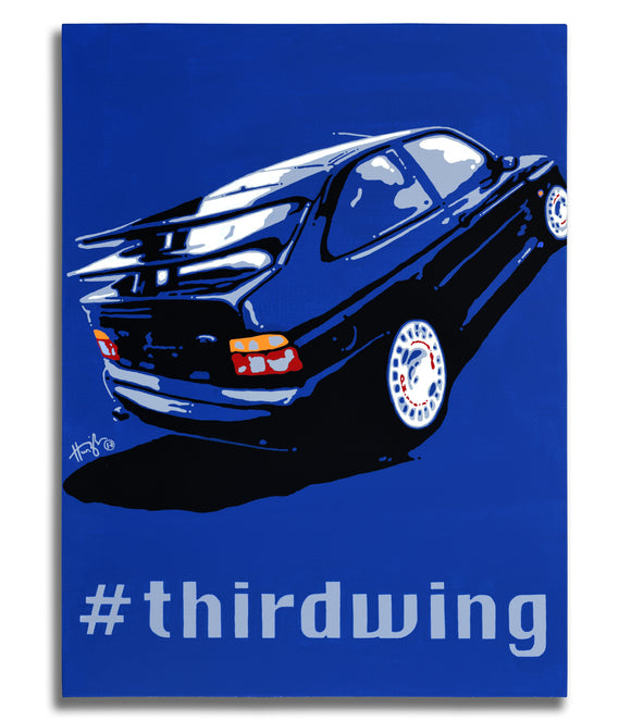 Wheeler Dealer Collection - #thirdwing - Original Painting