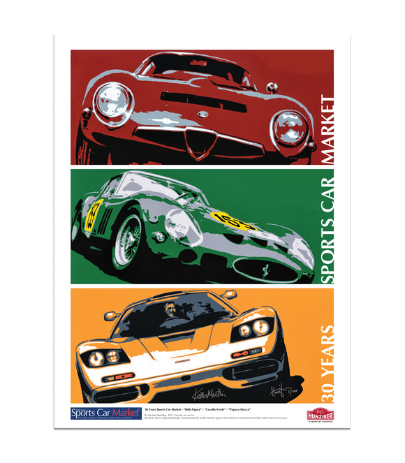Sports Car Market 30th Anniversary - Limited Edition Archival Print - Signed & Numbered