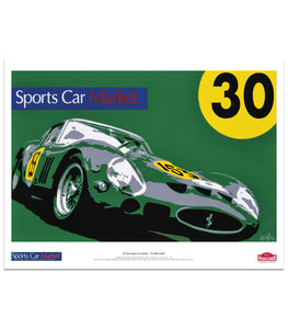"Sports Car Market 30th Anniversary Poster - ""Cavallo Verde"""