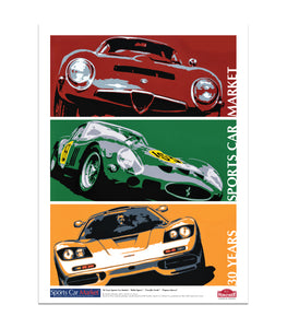 Sports Car Market 30th Anniversary - Poster