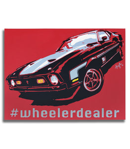 Wheeler Dealer Collection - #mach1 - Original Painting