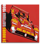 Ferrari 333 SP - 24h Daytona 1998 - Canvas Print