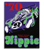Porsche 917 Longtail  - Hippie - Canvas Print